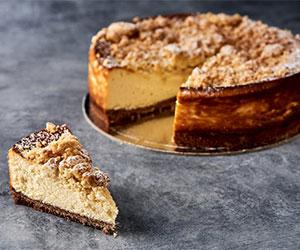 Baked ricotta cheesecake thumbnail
