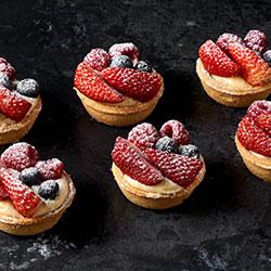 Triple berry tarts thumbnail