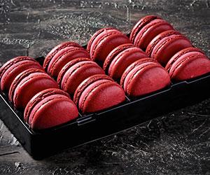 Red skin macarons thumbnail