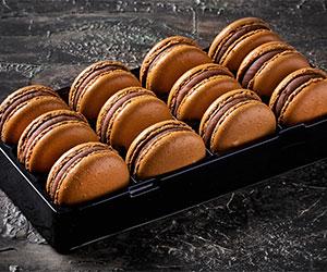 Salted caramel macarons thumbnail