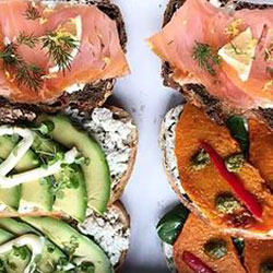 Open Danish sandwich box thumbnail
