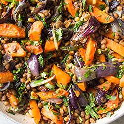 Roast veg salad thumbnail