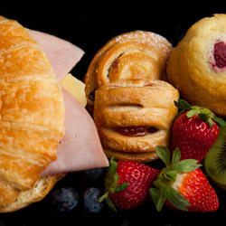 Croissant, Danish, muffin and fruit package thumbnail