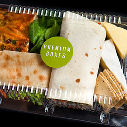 Wrap, Turkish bread, frittata, cheese and lavosh lunch box thumbnail