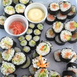 Mixed sushi platter thumbnail