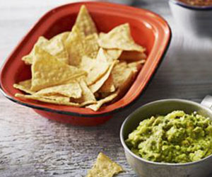 Corn chips and guacamole thumbnail