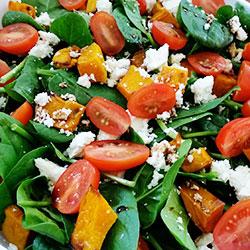 Pumpkin and feta salad platter thumbnail