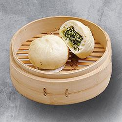 Steamed vegetarian buns thumbnail