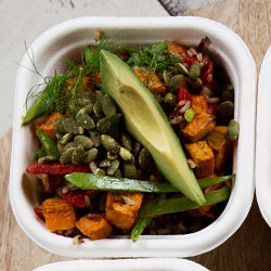 Quinoa and pumpkin salad thumbnail