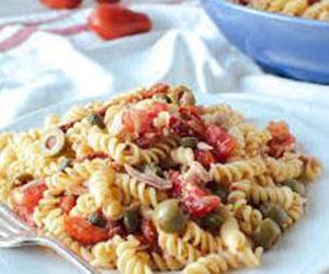 Tuna and artichoke pasta thumbnail
