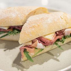 Parma prosciutto panino thumbnail