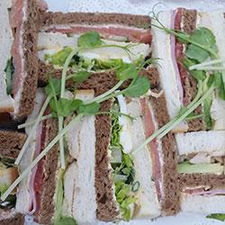 Gourmet ribbon sandwich thumbnail