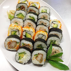 Assorted sushi rolls thumbnail
