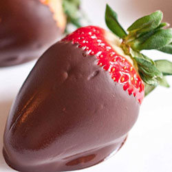 Strawberry dipped in chocolate thumbnail