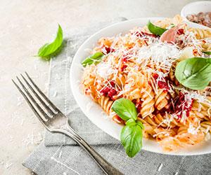 Italian pasta buffet thumbnail