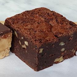 Triple chocolate brownie thumbnail