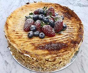 White chocolate cheesecake  thumbnail
