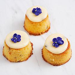 Lemon passionfruit baby cakes thumbnail