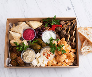 Middle eastern platter - serves 10 to 15 thumbnail