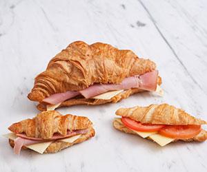 Savoury croissants - petite thumbnail