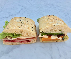 Turkish panini - gourmet thumbnail