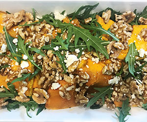Roast pumpkin, walnut and fetta salad thumbnail