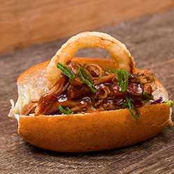 Sticky BBQ pork roll thumbnail