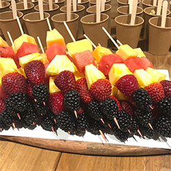 Fruit and berry skewers thumbnail