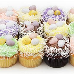 Easter egg cupcakes thumbnail