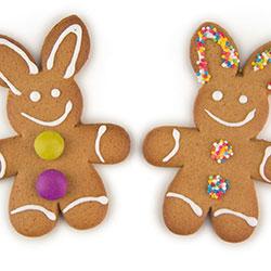 Easter egg ginger bunnies thumbnail
