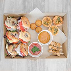 Gourmet mini bagel and finger food package thumbnail