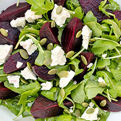 Beetroot and Spanish onion salad thumbnail