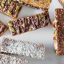 Vegan raw breakfast bars thumbnail