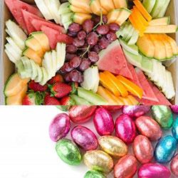 Easter fruit platter thumbnail