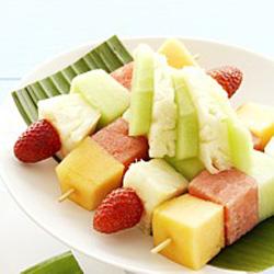 Fruit skewers - small thumbnail