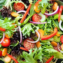 Mixed green leaf salad thumbnail