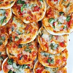 Vegetarian pizzetta platter thumbnail