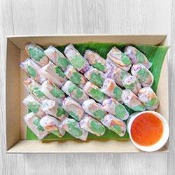 Vietnamese rice paper rolls - mini thumbnail