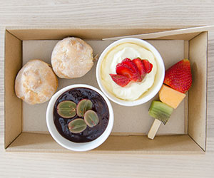 Scones and fruit thumbnail