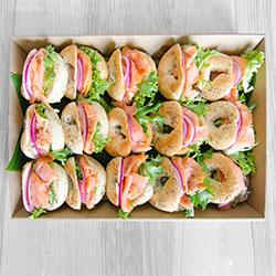 Breakfast bagels - mini thumbnail