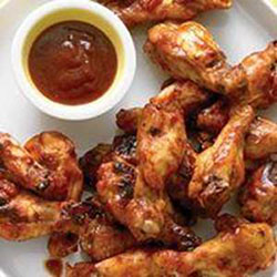 Spicy devil chicken wings and drumettes thumbnail