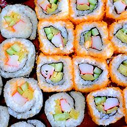 Sushi roll platter thumbnail