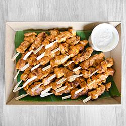 Tandoori chicken skewers thumbnail