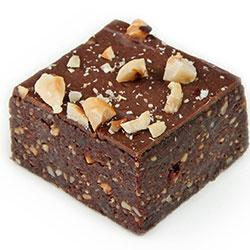 Vegan hazelnut brownie thumbnail