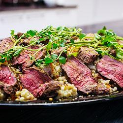 Roasted kangaroo salad thumbnail