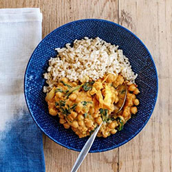 Chickpea curry nu meal thumbnail