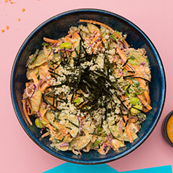 Spicy ahi tuna poke bowl thumbnail