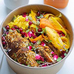 Chermoula chicken bowl thumbnail