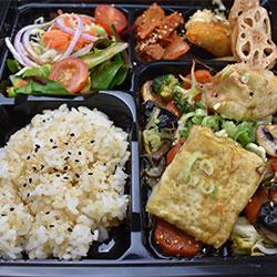 Crispy tofu bento box thumbnail