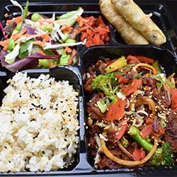 Korean spicy pork bento box thumbnail
